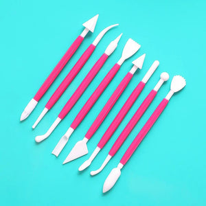 Fondant Tool Set: Pink | www.bakerspartyshop.com
