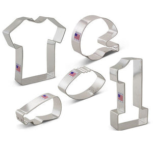 Football Cookie Cutters Set | www.bakerspartyshop.com
