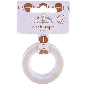 Football Washi Tape | www.bakerspartyshop.com