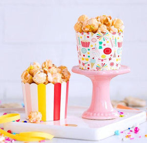 Carnival Baking Cups: Hip Hip Hooray | www.bakerspartyshop.com