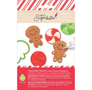 Gingerbread Man Cookie Cutter & Stamper Kit | www.bakerspartyshop.com