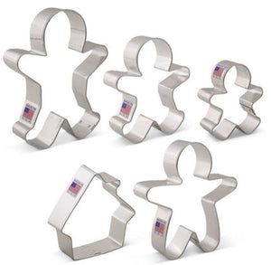 Gingerbread Man Cookie Cutter Set | www.bakerspartyshop.com