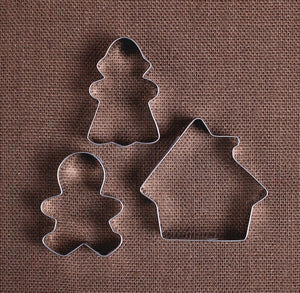 Gingerbread House Cookie Cutter Set | www.bakerspartyshop.com