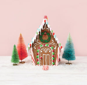Ginger Snap Reusable Gingerbread House Kit | www.bakerspartyshop.com