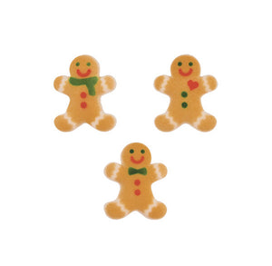 Gingerbread Man Sugar Toppers | www.bakerspartyshop.com