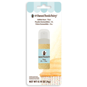 Sweet Tooth Fairy Edible Gold Glitter Dust | www.bakerspartyshop.com