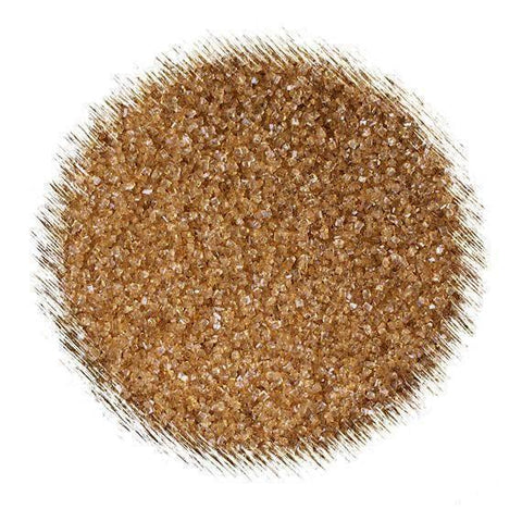 Gold Sanding Sugar | www.bakerspartyshop.com