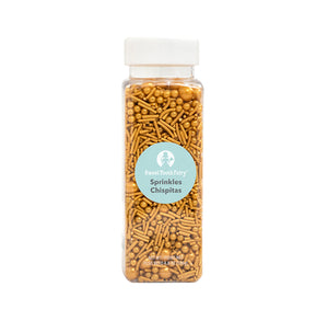 Gold Sprinkle Mix by Sweet Tooth Fairy | www.bakerspartyshop.com