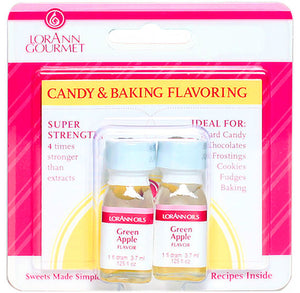 LorAnn Green Apple Flavor Twin Pack | www.bakerspartyshop.com