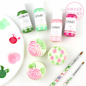 Green Edible Art Paint | www.bakerspartyshop.com