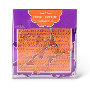 Halloween Cookie Cutters Set | www.bakerspartyshop.com