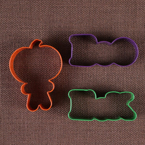 Halloween Cookie Cutters Set: Boo | www.bakerspartyshop.com