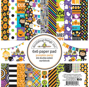 Halloween Paper Pad: Pumpkin Party | www.bakerspartyshop.com