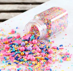 Sprinklefetti Happiness Sprinkle Mix | www.bakerspartyshop.com