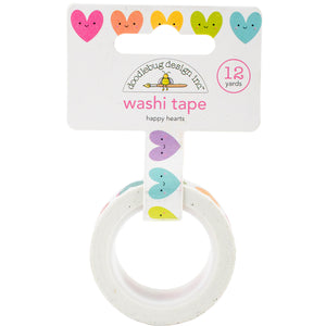 Happy Hearts Washi Tape | www.bakerspartyshop.com