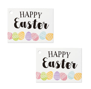 Happy Easter Gift Tag Cards | www.bakerspartyshop.com