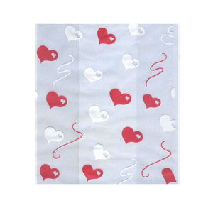 Valentine's Day Cellophane Bag Kit: Heart | www.bakerspartyshop.com