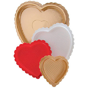 Medium Heart Candy Box: Gold | www.bakerspartyshop.com