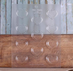 Heart Candy Mold with Border | www.bakerspartyshop.com
