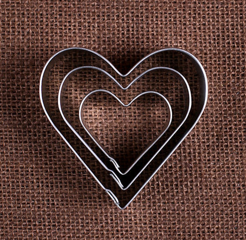 Heart Cookie Cutters Set | www.bakerspartyshop.com