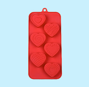 Valentine's Day Candy Mold: Assorted Hearts | www.bakerspartyshop.com