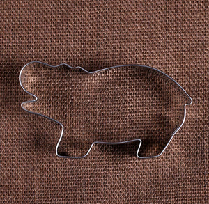 Hippo Cookie Cutter | www.bakerspartyshop.com