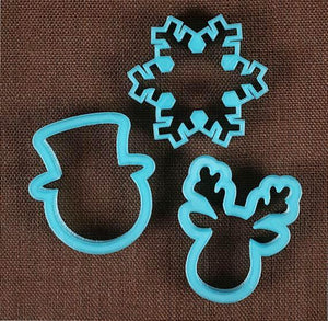Designer Christmas Cookie Cutter Set | www.bakerspartyshop.com