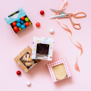 Small Cookie Boxes: Picnic Check | www.bakerspartyshop.com