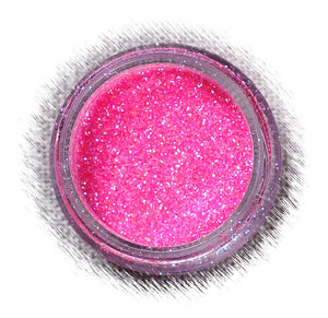 Hot Pink Disco Glitter | www.bakerspartyshop.com