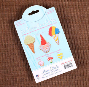 Ice Cream Cone Cookie Cutter | www.bakerspartyshop.com