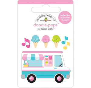 Large Ice Cream Truck Sticker | www.bakerspartyshop.com