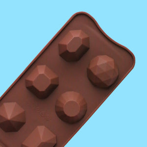 Silicone Gem Candy Mold: Large | www.bakerspartyshop.com