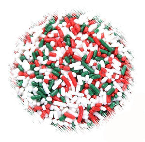Classic Christmas Jimmies Sprinkles | www.bakerspartyshop.com