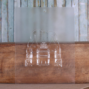Large Castle Candy Mold | www.bakerspartyshop.com