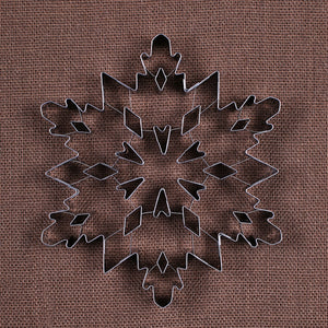 Fancy Jumbo Snowflake Cookie Cutter | www.bakerspartyshop.com
