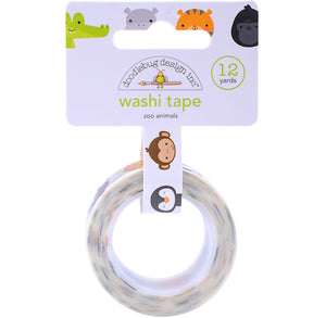 Zoo Animals Washi Tape | www.bakerspartyshop.com