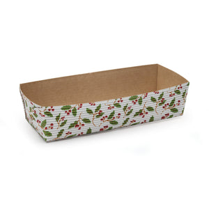 Christmas Loaf Pans: Holly | www.bakerspartyshop.com