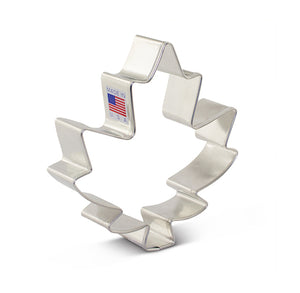 Large Maple Leaf Cookie Cutter | www.bakerspartyshop.com