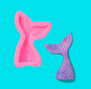 Mermaid Tail Candy Mold: Large | www.bakerspartyshop.com