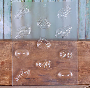 Sea Life Chocolate Mold | www.bakerspartyshop.com