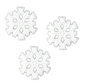 Large Snowflake Sugar Toppers | www.bakerspartyshop.com
