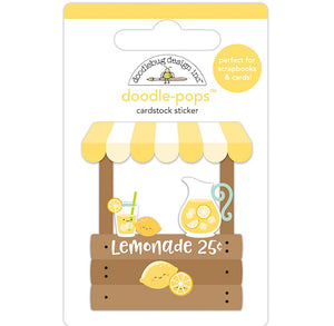 Large Lemonade Stand Stickers | www.bakerspartyshop.com