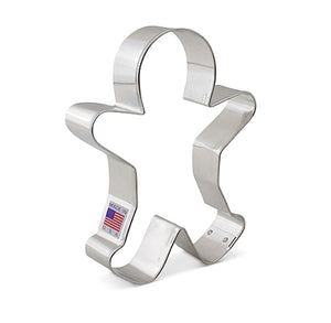 Large Gingerbread Man Cookie Cutter | www.bakerspartyshop.com