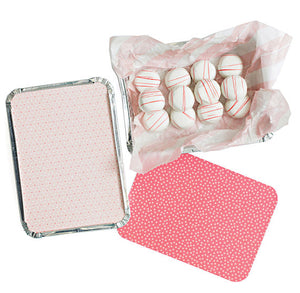 Large Pink Treat Tins | www.bakerspartyshop.com