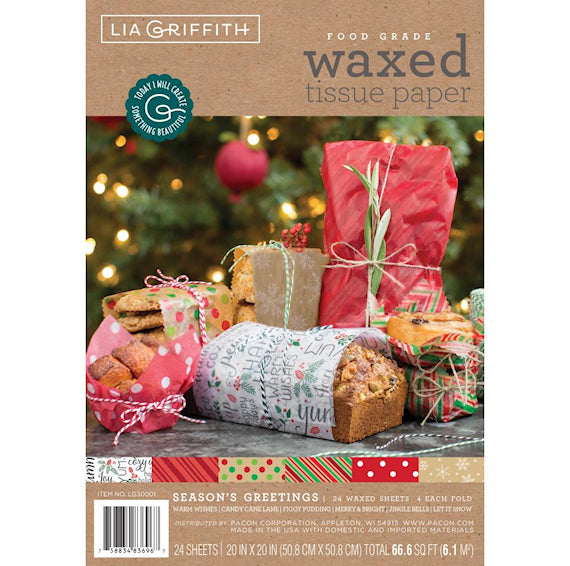 Christmas Food Tissue Paper
