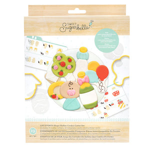 Sweet Sugarbelle Life Events Cookie Cutter Set