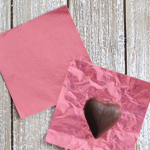 Light Pink Foil Candy Wrapper | www.bakerspartyshop.com