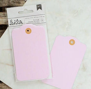 Large Pastel Pink Gift Tags | www.bakerspartyshop.com