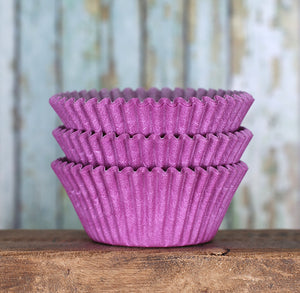 Light Purple Cupcake Liners: Solid | www.bakerspartyshop.com