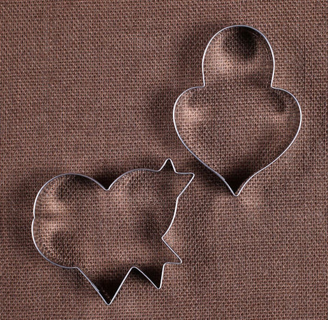 LilaLoa's Heart Cookie Cutter Set | www.bakerspartyshop.com